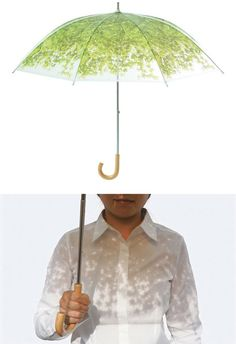 Komorebiagasa Treeshade Umbrella (by Design Complicity)