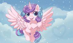 Flurry Heart. Flurry Heart, Celestia And Luna, Anime Toys, Equestria Girls, Ponies, Mlp, My Little Pony, Jelly, Princess Zelda