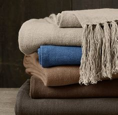 traditional throws by Restoration Hardware