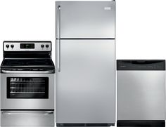 refrigerators appliances built in dishwasher frigidaire the brick ...