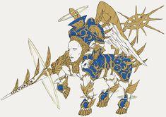 2の敵デザインについて(前編)   Bayonetta 2 開発者ブログ