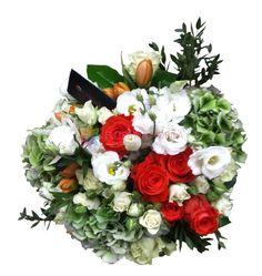 buchet din hortensie trandafiri si lalele Floral Wreath, Wreaths, Luxury, Collection, Home Decor, Floral Crown, Decoration Home, Door Wreaths, Room Decor