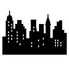 free city skyline silhouette vector city silhouette graphics rh pinterest com city skyline clip art free city skyline clipart png