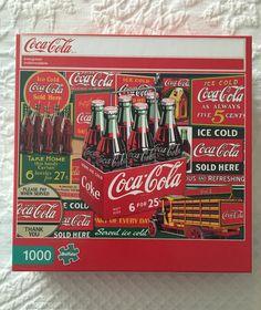 """VINTAGE COCA-COLA COLLECTIBLES--CLEAR 60/'s COCA-COLA GLASS--6/"""" TALL--REPLICA"""