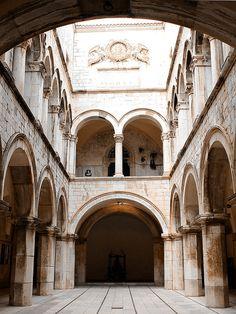 Dubrovnik ~ Sponza Palace by felber, via Flickr