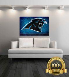 Carolina Panthers Canvas Carolina Panthers By SportsDecorPrints