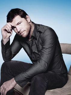 We won't judge if you make this your cell phone wallpaper. #SamWorthington