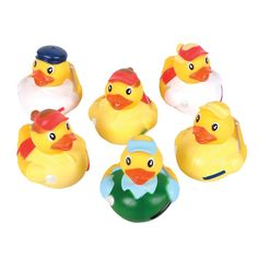 12 Golf Rubber Ducks: Toys & Games