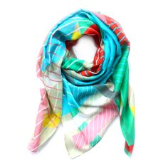 Scarf // Abstract by YUXAccessoires on Etsy, €98.00