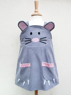 Girls and baby mouse dress by wildthingsdresses on Etsy, $62.00