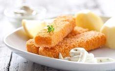 Fillet of cod, halibut or tilapia — 450 g Breadcrumbs — 200 g Salt ...