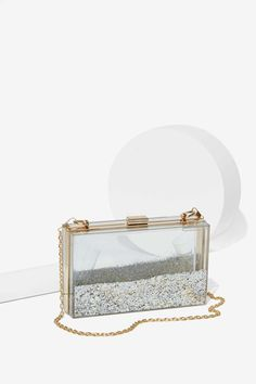 Skinnydip London Crystal Clear Crossbody Bag - Accessories   Bags + Backpacks   All Things Glitter   Gifts Under $50   Accessories   All   Party Shop   Sequins & Glitter   Gifts Under $50