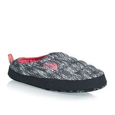 The North Face Women's NSE Tent Mule III Slippers - Knotty Knit Print/Calypso Coral