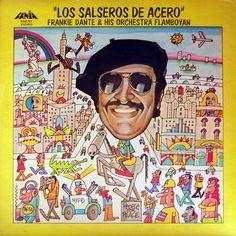 Frankie Dante Y La Flamboyan - Chupa El Piruli con Arsenio Rodriguez Musica Salsa, Salsa Music, Afro Cuban, Much Music, Island Records, Latin Music, Sing To Me, Puerto Ricans, Music Artists