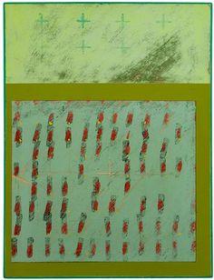 «Тяжелая вода». Питер Гринуэй After the New Flood – Replanting, 2010, acrílico con tiza