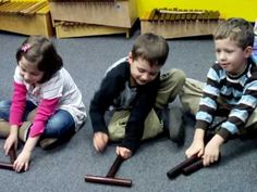 Orff Letter Game - perfect for Kindergarten!