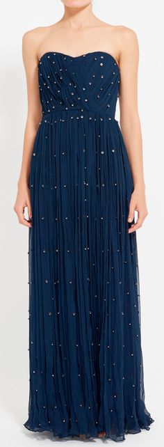 Midnight stars gown