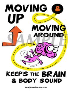 """There are several awesome """"Brain based"""" posters like this on Eric Jensen's website. Aren't they cool?"""