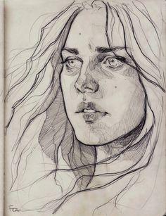 eyes like wildflowers by fdasuarez.deviantart.com on @deviantART