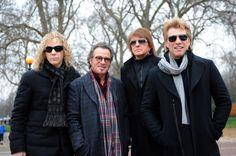 David Bryan, Tico Torres, Richie Sambora and Jon Bon Jovi of Bon Jovi.
