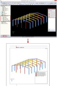 Dlubal RFEM 5 & RSTAB 8 - New Color Scales in Panel for Rendering | http://www.dlubal.com/en | #bim #cad #dlubal #dynamics #eurocode #engineering #engineeringsoftware #fea #fem #rfem #rstab #structuralanalysis