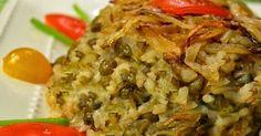 Ingredientes 2 xícaras de arroz cozido 2 xícaras de lentilhas cozidas 2 cebolas grandes cortadas em fatias finas