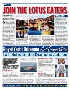 Edinburgh Evening News | Columbia Luxury Resort | Hotels in Cyprus