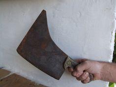 Vintage Butchers Cleaver //  Meat cleaver by VintageRetroOddities