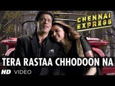 Tera Rastaa Chhodoon Na Song Chennai Express | Shahrukh Khan, Deepika Padukone