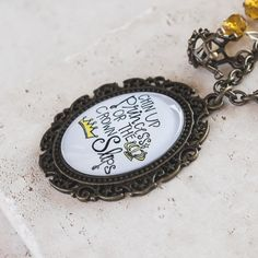Plunder Design - Amy Necklace - Chin Up Princess or the Crown Slips Antique Gold, Antique Jewelry, Plunder Jewelry, Plunder Design, Chin Up, The Crown, Pocket Watch, Gold Necklace, Antiques