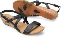 Born Porta in Black - Born Womens Sandals on Bornshoes.com