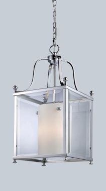 Fairview 3 Light Chrome & Clear Beveled Glass Penant - Z-Lite - 176-3M www.shopazteclighting.com/brand-z-lite