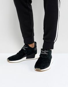 big sale b72e3 ec582 adidas Originals NMD C2 Sneakers In Black BY3011 - Black Adidas Originals  Mens, Black Sneakers