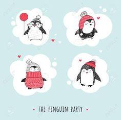 cute penguin illustration - Google Search