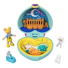 Buy Polly Pocket: Hidden Hideouts - Playset at Mighty Ape NZ. Tiny is Mighty! Takes on whole new meaning with the Polly Pocket! It's sleepy time at the Teeny tot nursery with Polly doll and her baby brother Paxt. Baby Girl Toys, Toys For Girls, Little Mermaid Toys, Polly Pocket World, Poly Pocket, Aquarium Decorations, Babysitters, Travel Toys, Baby Doll Clothes