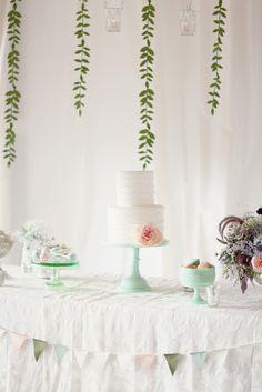 weedding table, but like backdrop