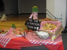 PTO Welcome Back Party for Teachers ... cute idea!