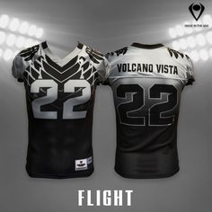 1167dbd0fb8 Flight Sublimated Football Jerseys withstand ripping and tearing