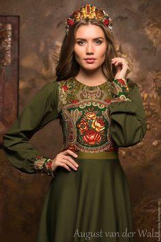Russian fashion style