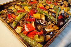 Italian roasted vegetables