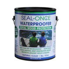 Seal-once 7214 waterproof Sealer, 1 Gallon Building A Teardrop Trailer, Teardrop Campers, Wood Sealer, Camper Trailers, Interior And Exterior, Tear Drops, Livestock, Rv, Highlights
