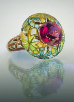 """The Moscow Kremlin Museums present the exhibition """"Jewels inspired by Nature. Ilgiz F. On display are masterpieces by Ilgiz Fazulzyanov, contemporary Russian jeweler. Art Nouveau Jewelry, Jewelry Art, Jewelry Rings, Jewelry Accessories, Fine Jewelry, Jewelry Design, Jewelry Watches, Enamel Jewelry, Antique Jewelry"""