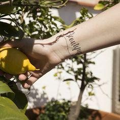 Beautiful tattoo :: tatuajes temporales
