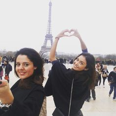 Brazil and Iran meeting in France! The best week in Paris meeting all my friends!!! #amizade #amor #gratidao #thankful #blessed #happy #feliz #friendship #amiga #friend #bff #france #paris #brasil #goodmorning #bomdia #picoftheday #instagram #instatravel #wanderlust @morgentau_hh #love #heart