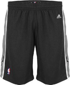 San Antonio Spurs Black Embroidered Swingman Shorts By Adidas  64.95  Logotipo Spurs 6bdfbbdcff459