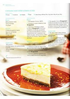 150 receitas Bimby (melhores de 2014) Food Cakes, Sweet Recipes, Cake Recipes, Kitchen Reviews, Sweet Cakes, Cooking Tips, Cheesecake, Good Food, Food And Drink