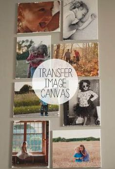 How to Transfer Images Onto Canvas