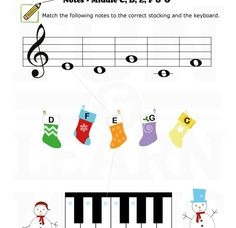 Looking for a fun note naming worksheet?  Here's an easy one for all young students.
