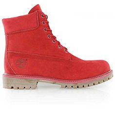 """timberland """"Icon 6"""""""" Premium Boot"""" Medium Red Nubuck - http://on-line-kaufen.de/timberland/47-5-eu-timberland-6-inch-premium-ftb-10001-herren-3"""