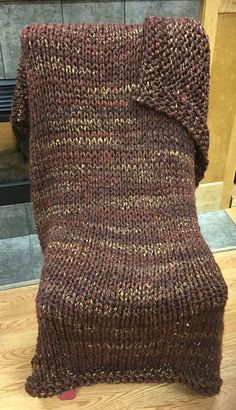 Knit an Afghan in 10 Hours or Less…Promise!!!